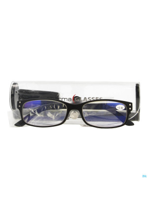 Pharmaglasses Visionblue Pc01 Leesbril +3.00 Black3500402-20