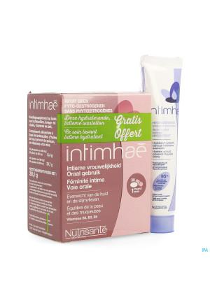 Intimehae Caps 60+soin Lav.intim. Hydra 40ml Grat.3510195-20