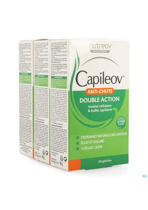 Capileov Anti Haaruitval Tripack Caps 3 X 30 Promo3518909-20