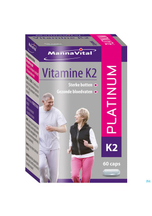 Mannavital Vitamine K2 Platinum Nf Caps 603521176-20