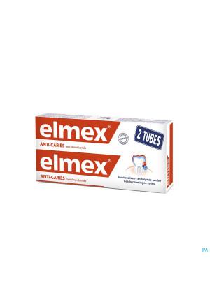 ELMEX® ANTI-CARIËS TANDPASTA TUBE 2x75ML-1.50€3535077-20