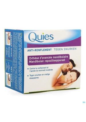 Quies Orthese Onderkaak A/snurk Apneu3537040-20