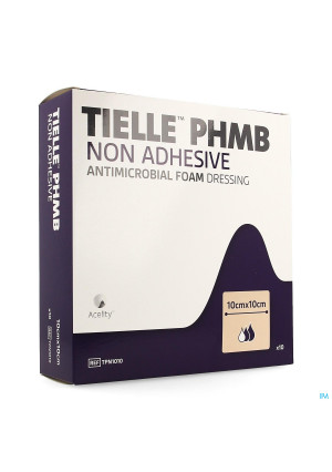 Tielle Phmb Hydropolymeer Verband 10,0x10,0cm 103539202-20
