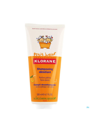 Klorane Petit Junior Sh Perzik 200ml3550720-20
