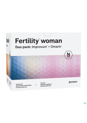 Fertility woman Duo 60 tab Improvum + 60 softgels Omarin3552320-20