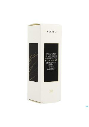 Korres Kf Black Pine 3d Oogcreme 15ml3574753-20