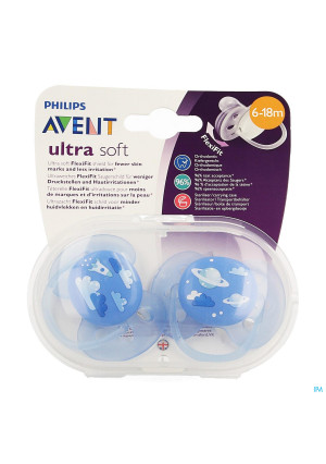 Philips Avent Fopspeen Soft Deco +6m Boy 23581071-20