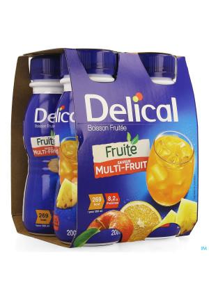 Delical Fruitdrink Multivruchten 4x200ml3583994-20