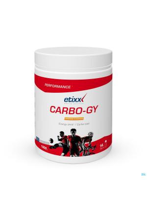 Etixx Carbo Gy Orange Pdr Pot 1000g3603404-20