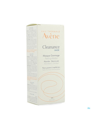 Avene Cleanance Mask Peelingmasker Vh 50ml3606027-20