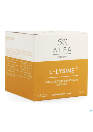 Alfa l-lysine 1000mg Tabl 453611795-20