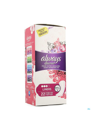 Always Discreet Incontinence Liner Light + 223623758-20