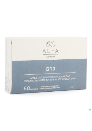Alfa Q10 100 mg Softgels 603644077-20
