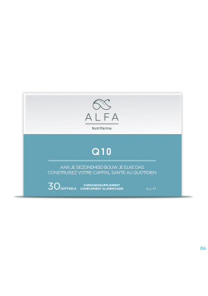 Alfa Q10 100mg Softgels 303644085-20