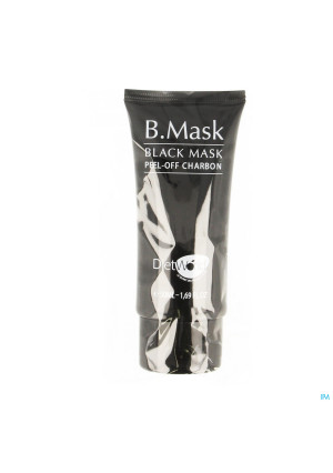 B Mask Black Mask Peel Off Kolen Tube 50ml3651056-20