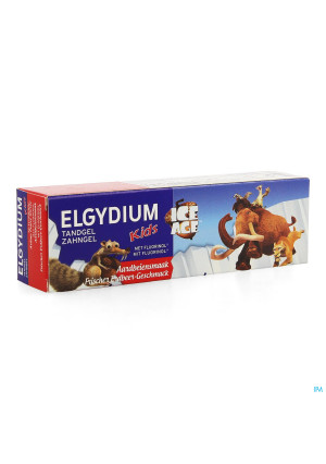 Elgydium Kids Tandpasta Aardbei Ice Age 2-6j 50ml3651981-20