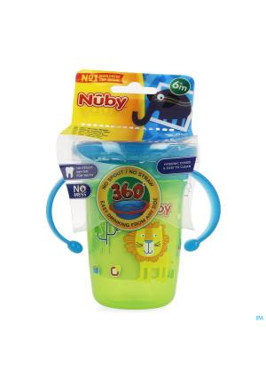 Nuby 360° Wonder Cup Handvatten Groen 240ml3674462-20
