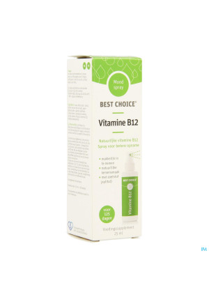 Best Choice Mondspray Vitamine B12 25ml3680345-20