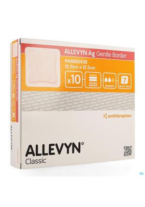 Allevyn Ag Verband Klevend Silic. 12,5x12,5cm 103686839-20