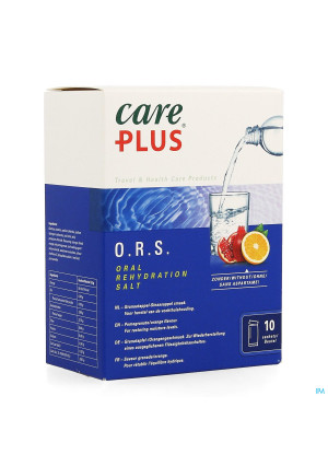 Care Plus Ors Pomegranate Orange Zakje 10x5,3g3691227-20