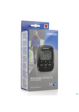 Omron Walking Style Iv Elekt. Stappenteller Zwart3693413-20