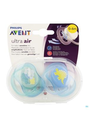 Philips Avent Fopspeen +0m Air Boy Deco Scf344/203717915-20
