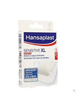 Hansaplast Med Sensitive Xl 6cmx7cm Strips 53721602-20
