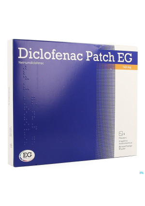 Diclofenac Patch Eg 140mg Pleister 53734803-20