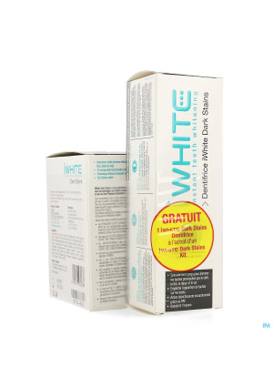 Iwhite Dark Stains Kit + Tandpasta 75ml Gratis3742798-20