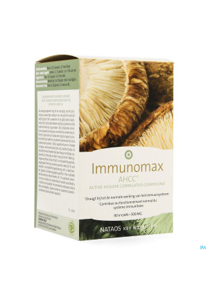 Immunomax Ahcc 500mg Vcaps 903751336-20