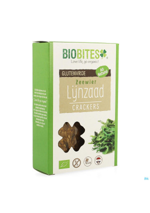 Biobites Lijnzaad Crackers Zeewier Bio 65g3762093-20