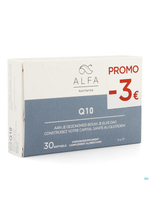 Alfa Q10 Softgels 30 Promo-3€3775061-20