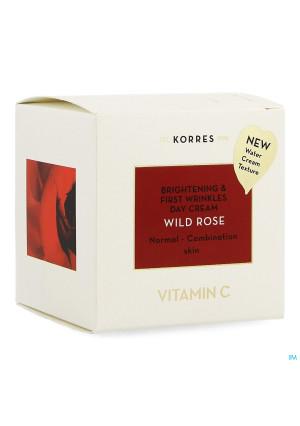 Korres Kf Wild Rose Dag Cr.norm.gemengde Huid 40ml3785433-20