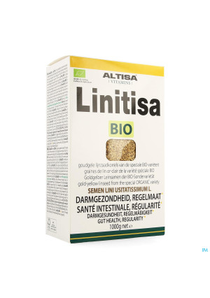 Altisa Linitisa Lijnzaad Goudgeel Bio 1kg3788262-20