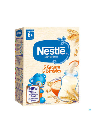 Nestlé Baby Cereals 5 Granen 250g3811528-20