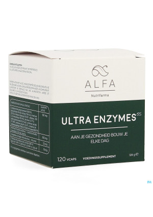 Alfa Ultra Enzymes Vcaps 1203834033-20