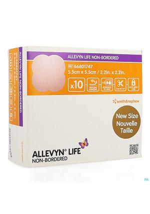 Allevyn Life Non Bordered 5,5x5,5cm 10 668017473873809-20