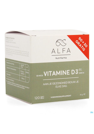 Alfa Vitamine D3 50mcg Softgel 1203885308-20