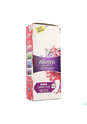 Always Discreet Incontinence Liners Plus Spx183892684-20