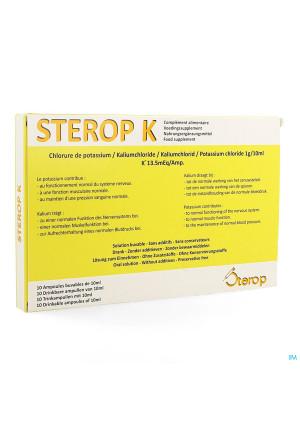 Sterop K Amp 10x10ml3896115-20