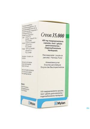 Creon 35000 420mg Maagsapresist Harde Caps 1003901733-20