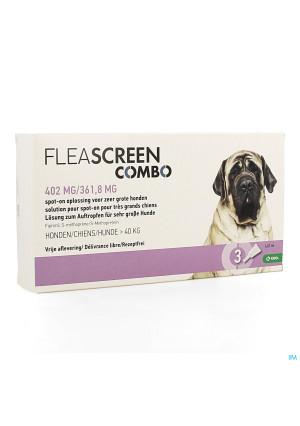 Fleascreen Combo 402mg/361,8mg Spot On Hond Pip. 33903259-20