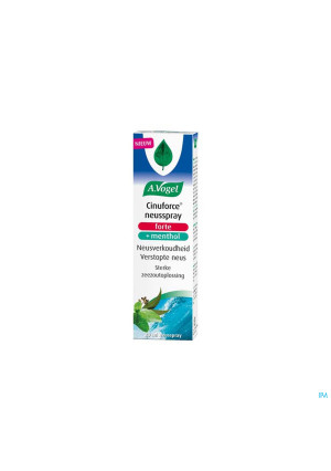 A.Vogel Cinuforce Neusspray Forte + Menthol 20ml3910692-20