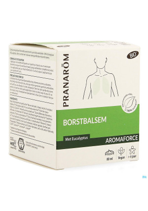 Aromaforce Bio Borstbalsem Tube 80ml3915436-20
