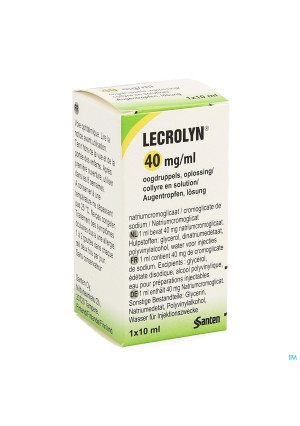 Lecrolyn 40mg/ml Oogdruppels 10ml3949906-20