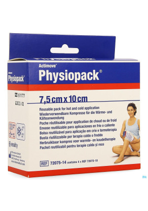 Actimove Physiopack 7,5cmx10cm 4 72075143959285-20