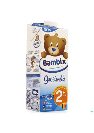 Bambix Groeimelk Natuur 2+ 1l3967627-20