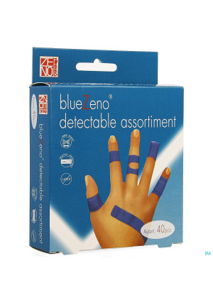 Bluezeno Pleister Detectable Assortment 404107447-20