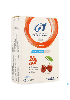 6d Energy Fruit Cherry 12x32g4121604-20