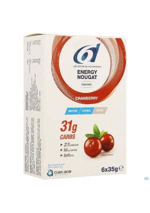 6d Energy Nougat Cranberry 6 X 35g4156733-20